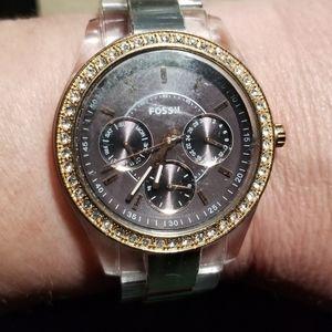 Women's fossill watch